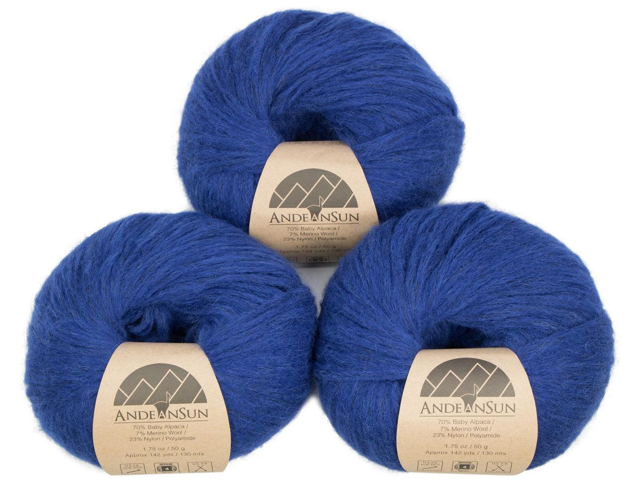 b3689f92631 Baby Alpaca Merino Wool Yarn (Weight  4) Worsted